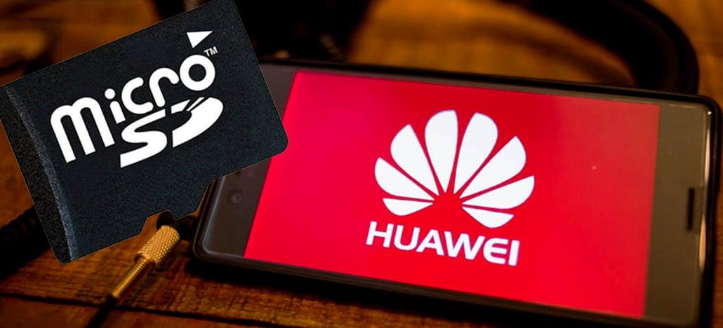 SD Association tira Huawei da sua lista e empresa não pode mais usar microSD