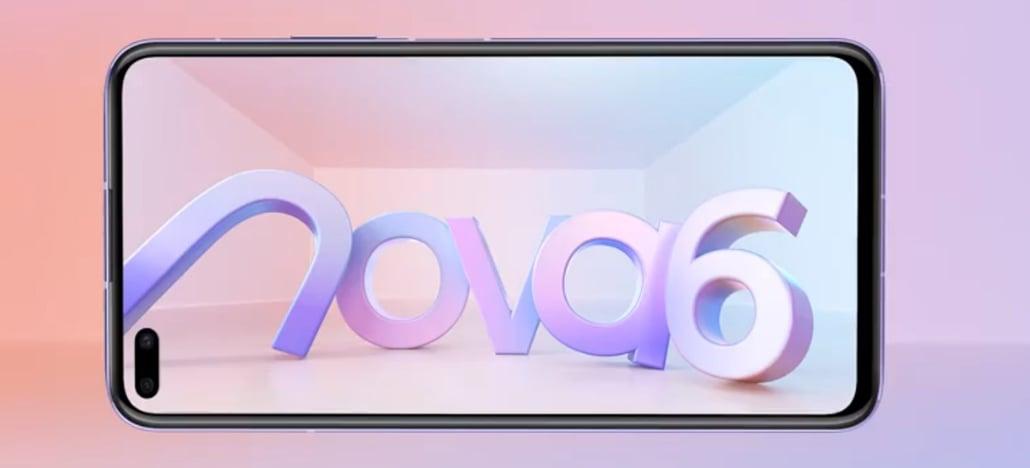 Smartphone Huawei Nova 6 com 5G aparece em novo vídeo