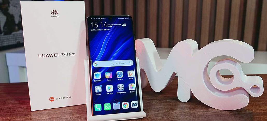 Huawei lança o P30 Pro no Brasil por R$ 5.499