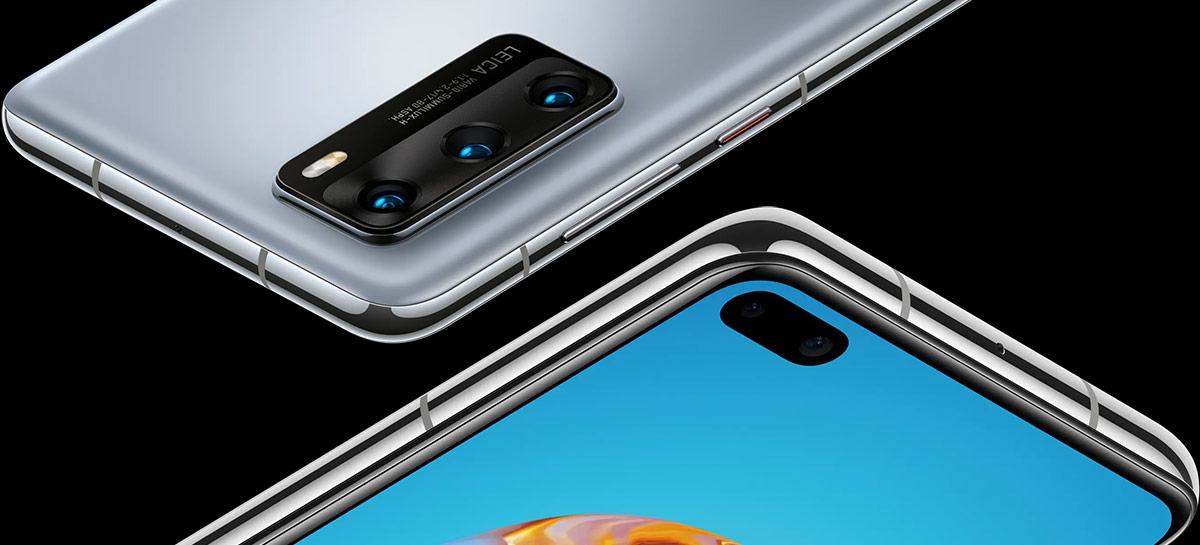 Huawei P40, P40 Pro e P40 Pro+ são oficialmente lançados por preços a partir de € 799