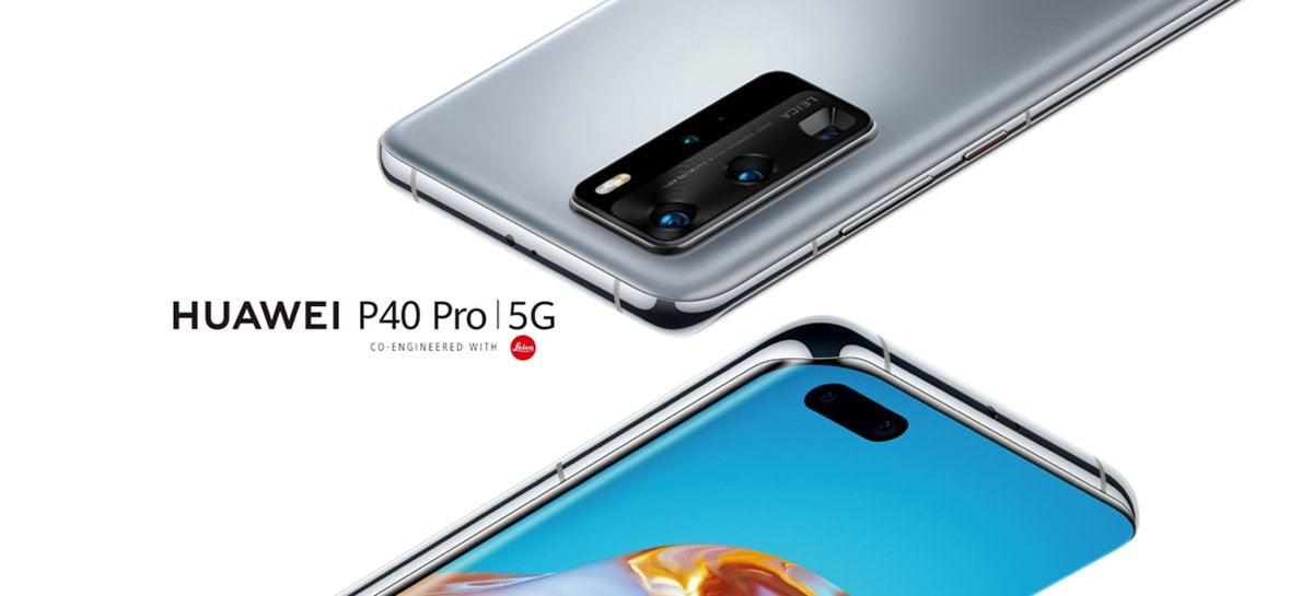 Linha Huawei P40 recebe novo modo AI 50MP para a câmera com a atualização mais recente