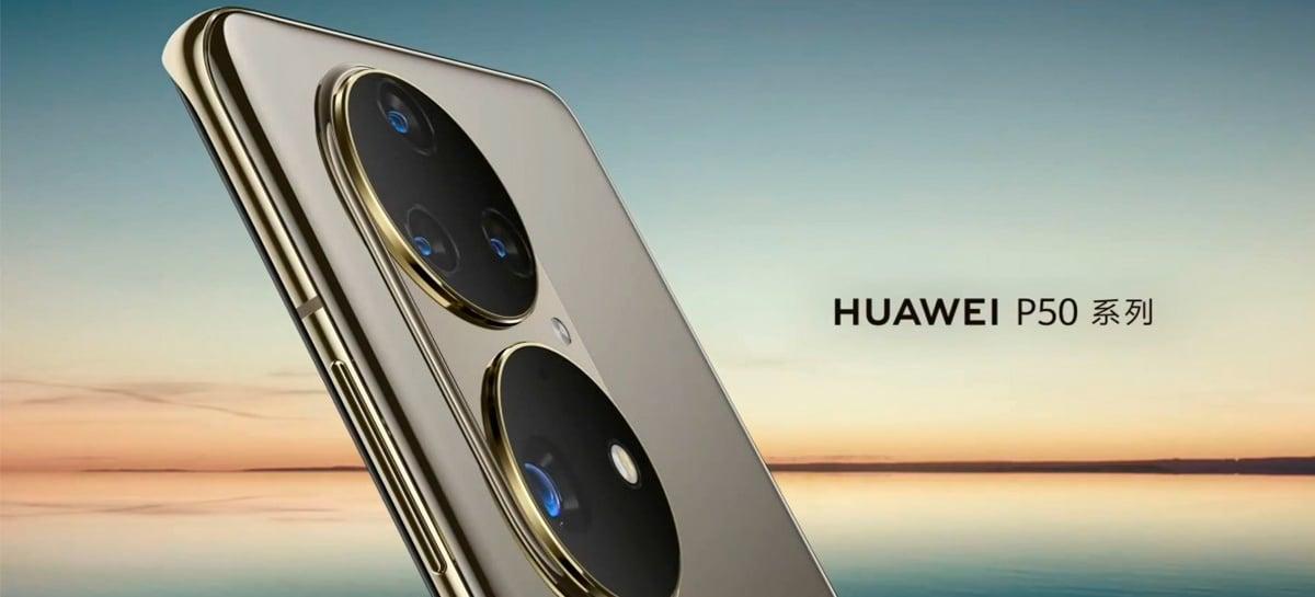 Huawei anuncia smartphone P50 que promete fotos incríveis com o sensor Sony IMX800