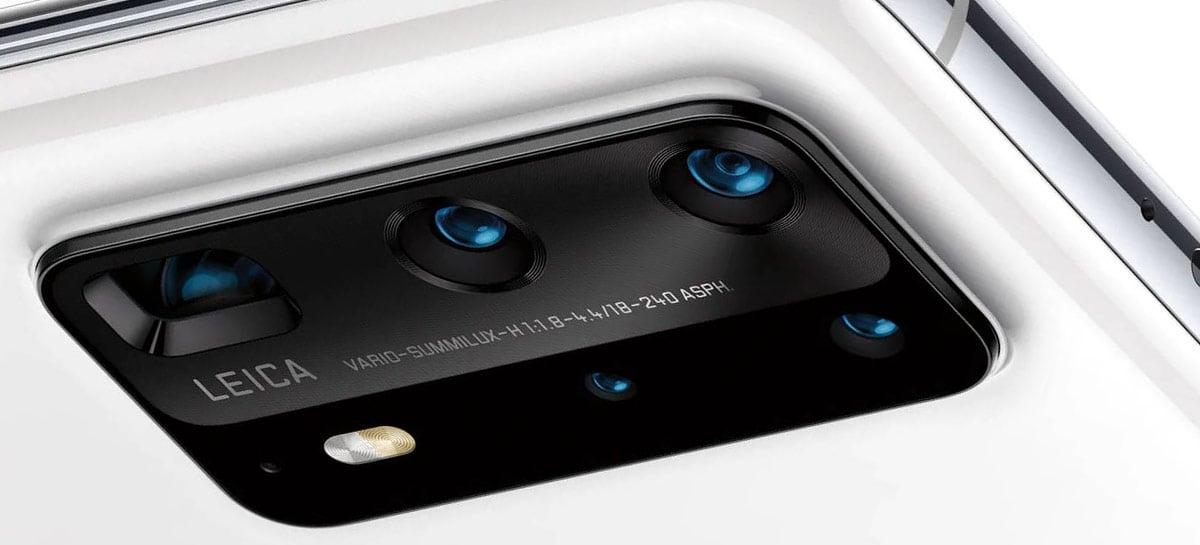 Huawei P50 vai ser o último celular Huawei com câmeras Leica, segundo rumor