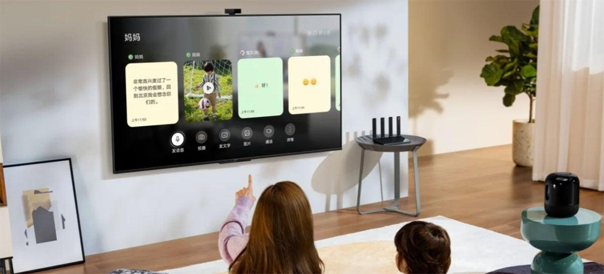 Huawei lança TV inteligente Smart Screen SE com display 4K e HarmonyOS 2.0