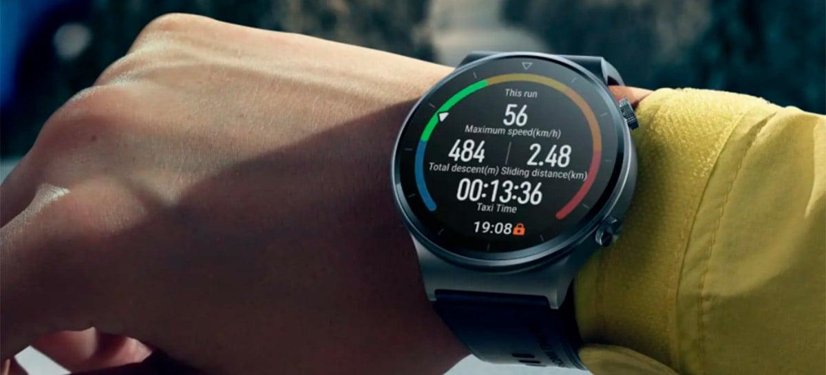 Huawei lança relógio inteligente Watch GT 2 Pro no Brasil por R$ 2.299