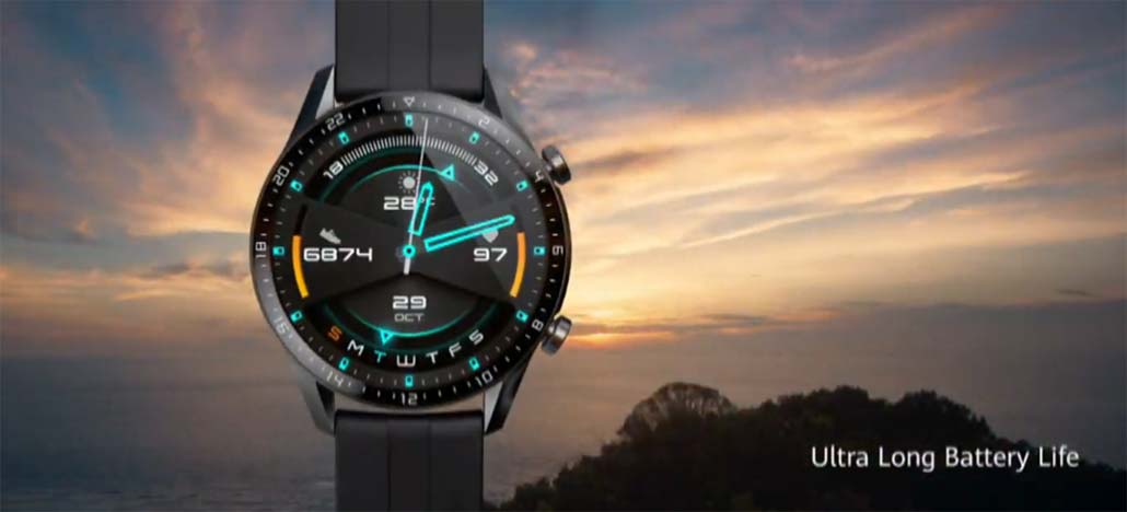 Relógio Inteligente Huawei Watch GT 2 promete duas semanas de autonomia