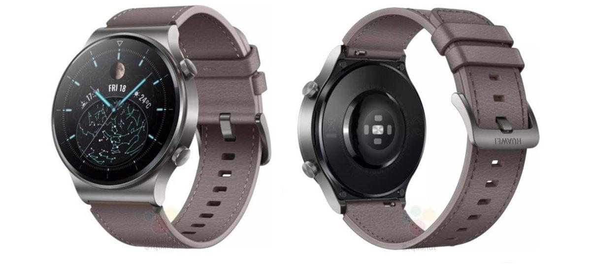Huawei Watch GT 2 Pro tem renderizações e especificações vazadas na internet [Rumor]