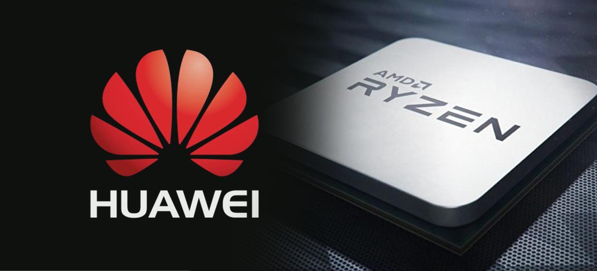 Huawei pode entrar no mercado de PCs domésticos utilizando CPUs Ryzen 4000
