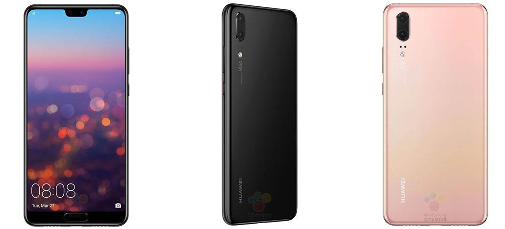 Veja especificações vazadas do Huawei P20 e Huawei P20 Pro