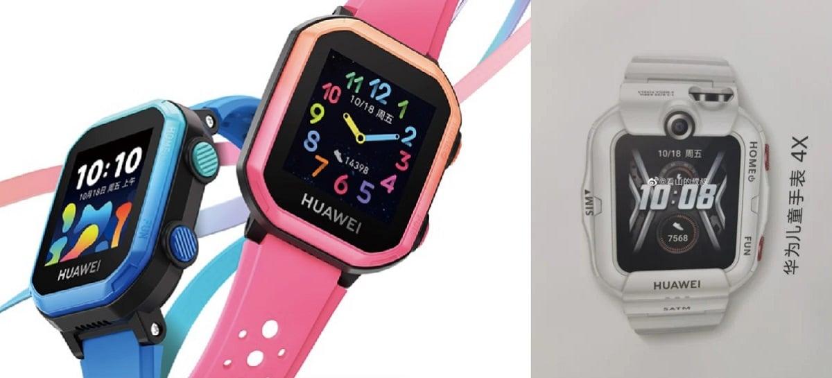 Smartwatch infantil Huawei Watch 4X será lançado em 30 de julho [Rumor]