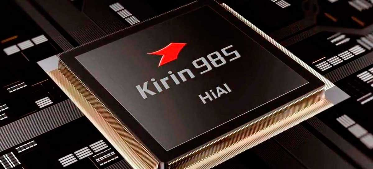 Huawei anuncia SoC Kirin 985 em 7nm com upgrade na performance 5G