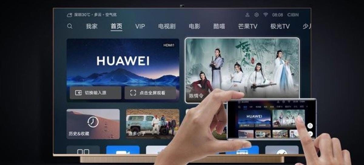 Huawei lança versão de 128GB da Smart TV Vision Premium Edition