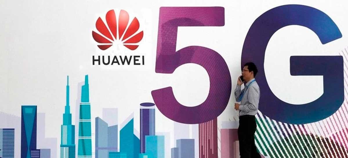 Huawei vai poder participar do Leilão da 5G no Brasil
