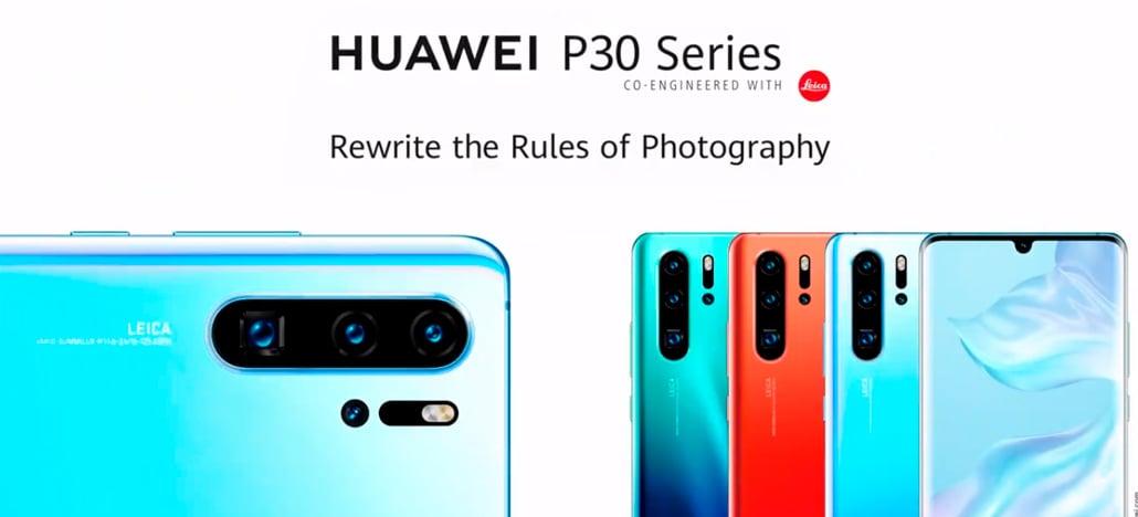 P30 Pro mantém Huawei no topo do DxOMark no ranking de câmeras traseiras