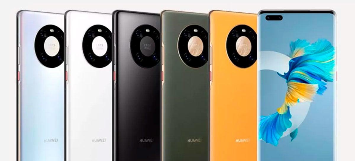 Huawei Mate40 Pro+ é o celular com a melhor câmera do mundo