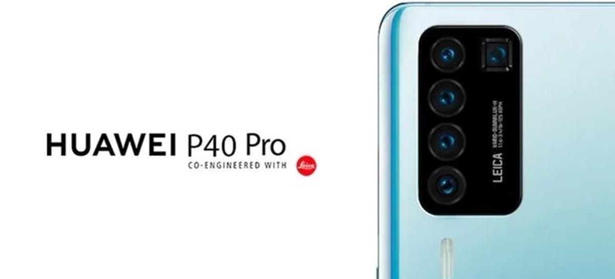 A traseira do Huawei P40 Pro pode ser assim, indica rumor