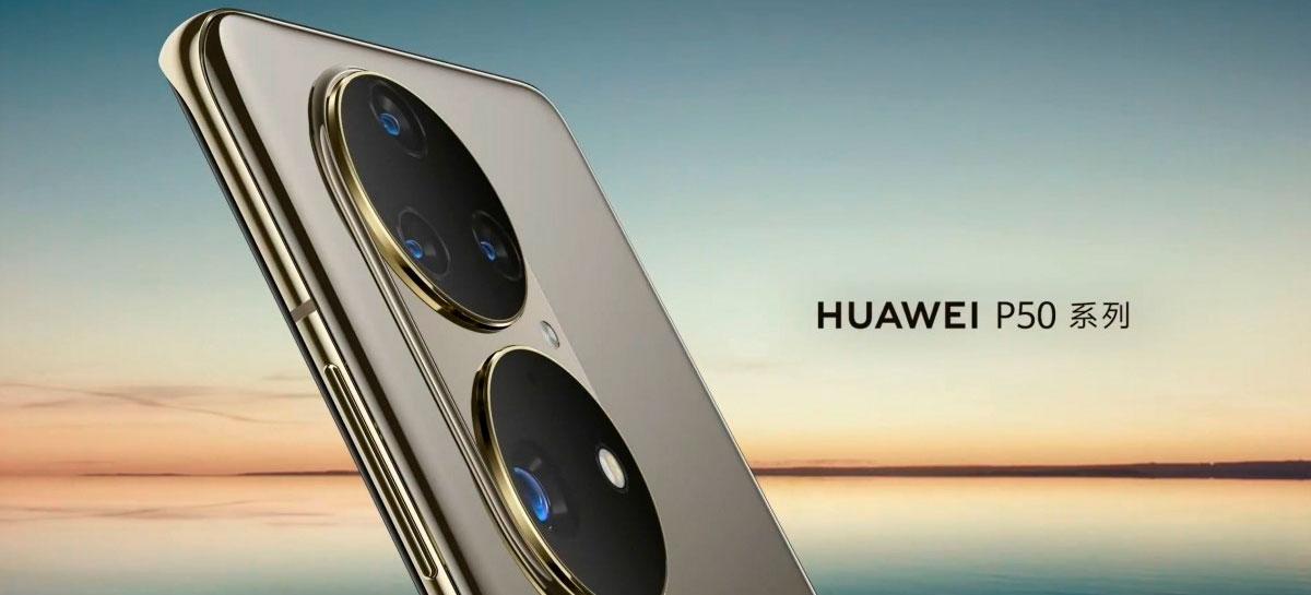Huawei P50 deve chegar em 29 de julho com o maior sensor ultrawide do mercado [RUMOR]