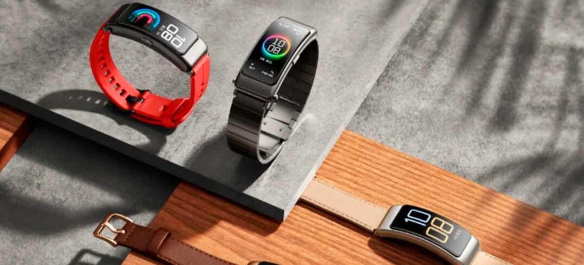 Huawei inicia as vendas da TalkBand B6 Fitness por a partir de US$ 142