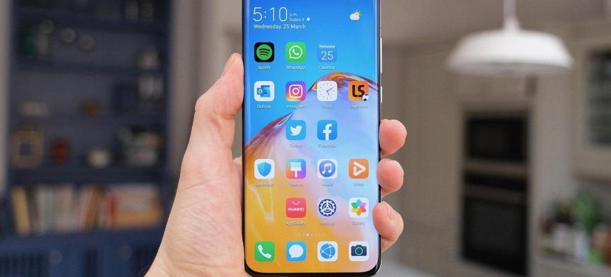 Huawei poderá ser primeira marca a lançar um celular com câmera sob tela