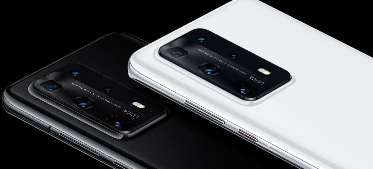Huawei P40 Pro recebe novas atualizações como Retrato Noturno 3.0 e compensação de luz