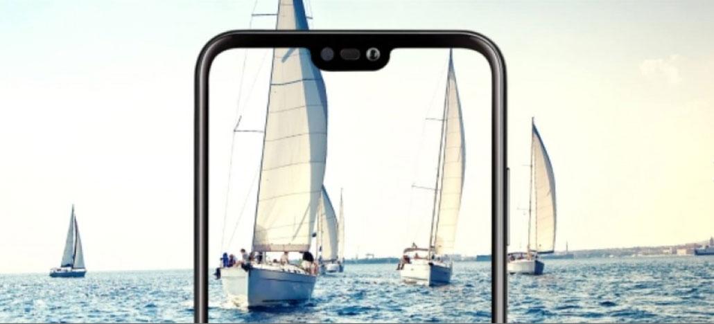 Novas imagens mostram as bordas superfinas na tela do Huawei P20
