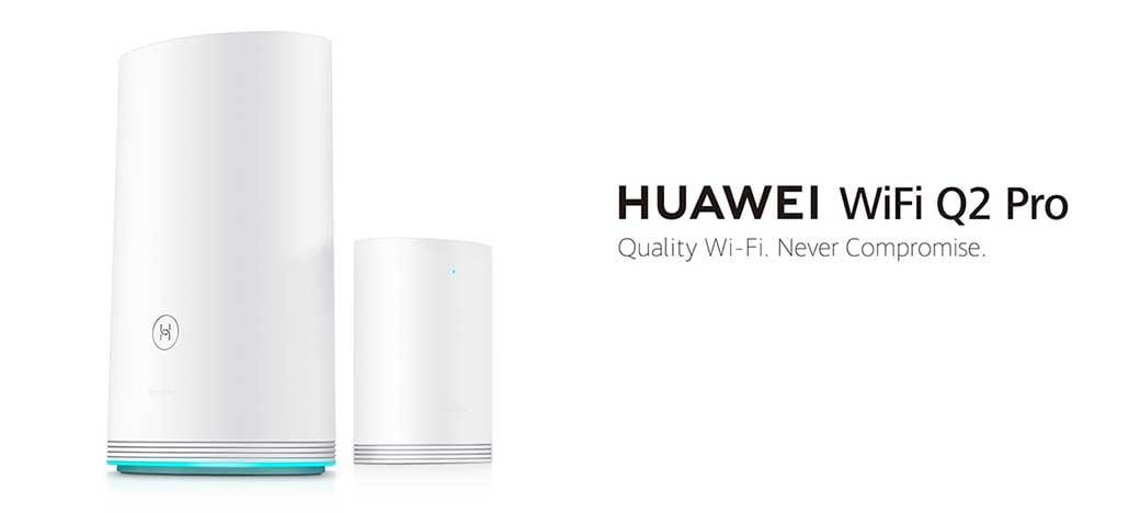 Huawei apresenta roteador Wi-Fi Q2 Pro com cobertura de banda larga de 200 Mbps