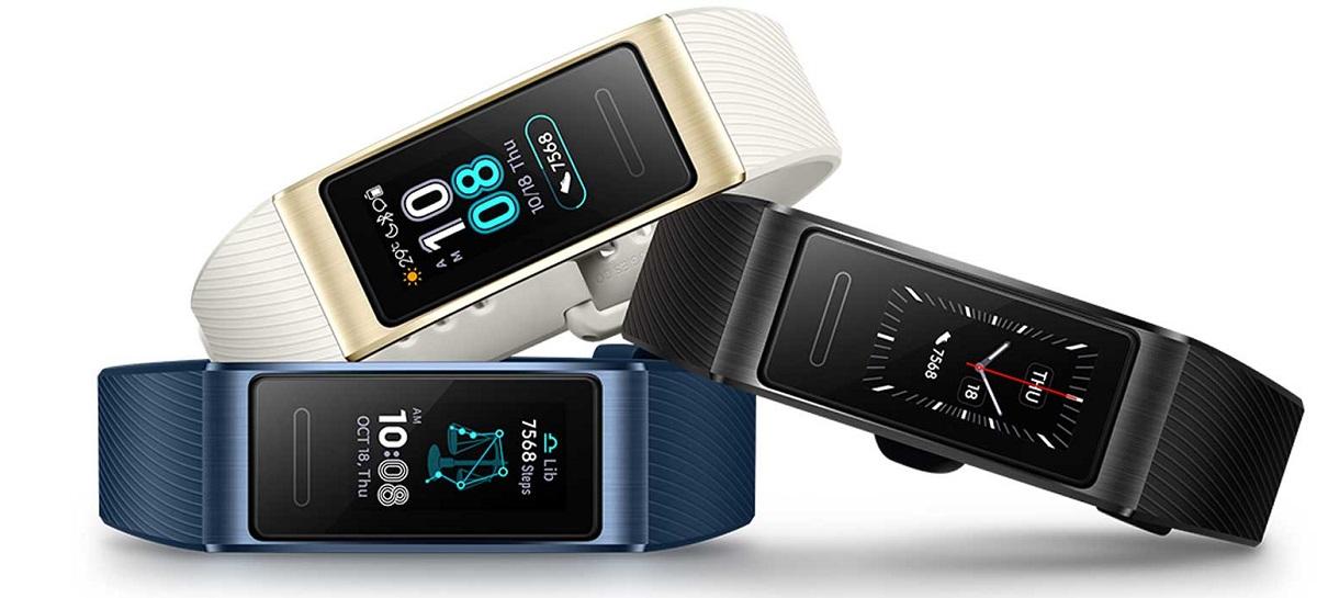 Smartband Huawei TalkBand B6 terá controle por voz e carregamento rápido