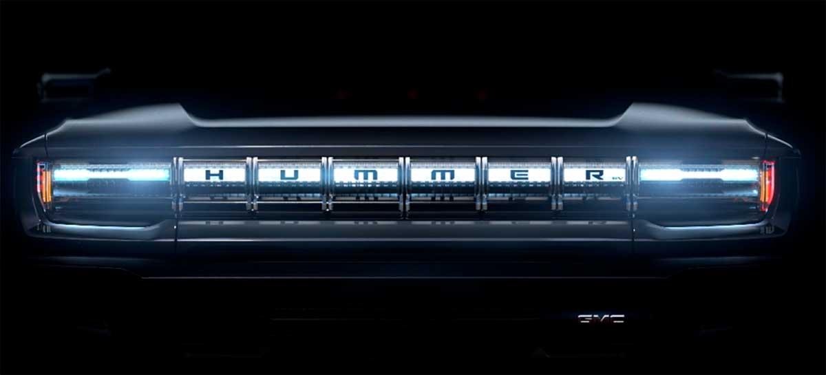 GMC anuncia Hummer EV totalmente elétrico para competir com o Tesla Cybertruck