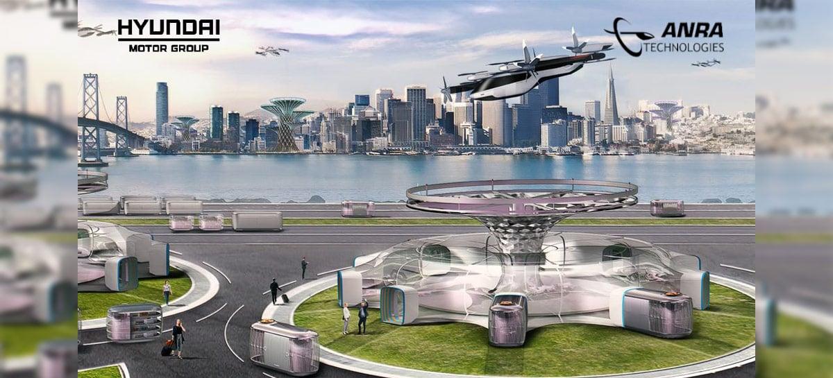 Hyundai anuncia parceria com a ANRA para o futuro de drones como táxi aéreo