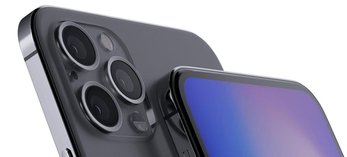 Todos os modelos do iPhone 12 devem ter design com tela sem vidro 2.5D [Rumor]