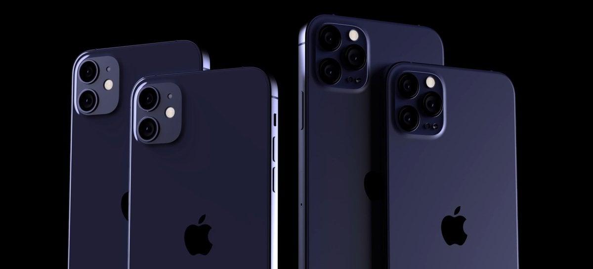 Primeira leva do iPhone 12 deve chegar ao distribuidor em 5 de outubro