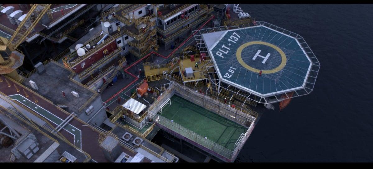 Série da Globo foi gravada com 65% das cenas geradas por computação gráfica