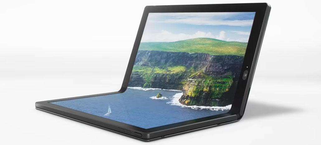Lenovo revela protótipo do primeiro computador com tela dobrável do mundo