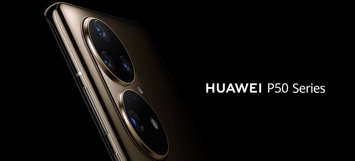 Imagens promocionais vazadas mostram mais do visual do Huawei P50