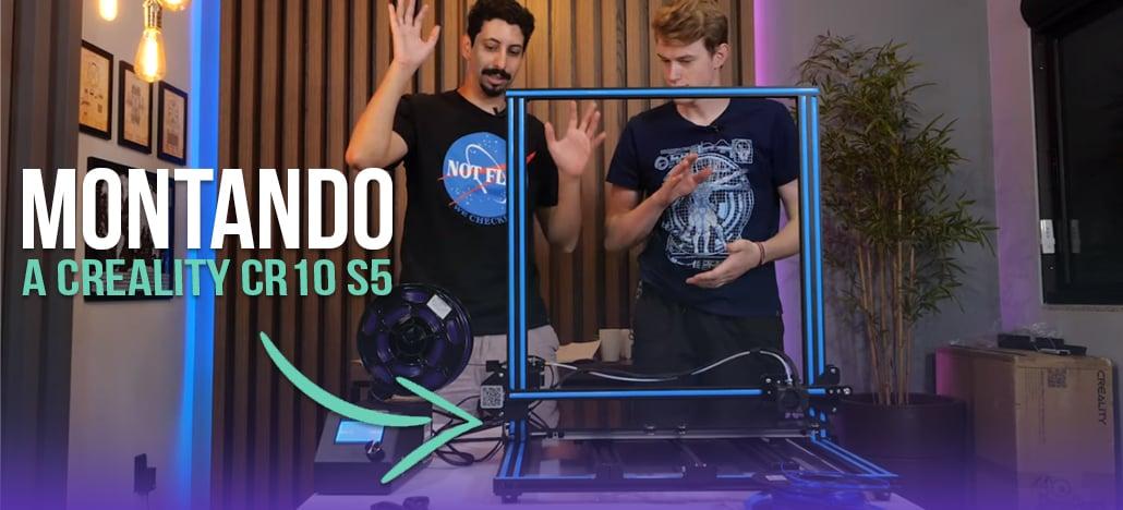Montamos uma impressora 3D de grande porte!