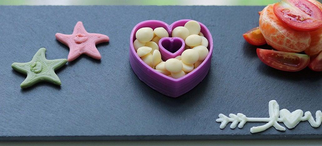 Impressora 3D que imprime comida começa a ser vendida no Brasil