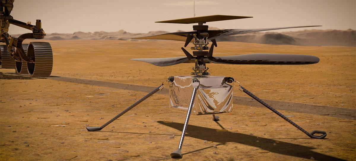 Ingenuity voa em Marte pela primeira vez e entra pra história - veja imagens!
