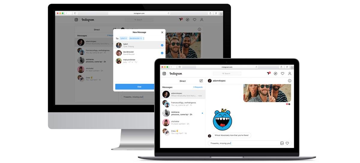 Instagram passa a permitir envio de DMs através do site para computadores