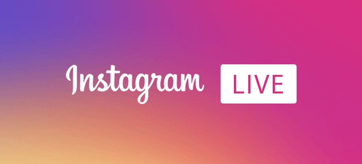 Instagram Live Rooms agora permite adicionar até três pessoas a uma transmissão