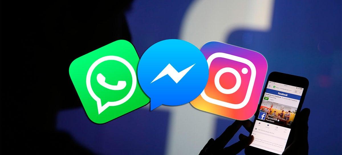 Facebook mostra primeiros sinais de fusão do Instagram e Messenger nas suas conversas