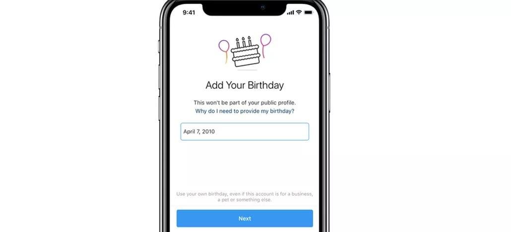 Instagram passa a pedir data de nascimento de novos usuários