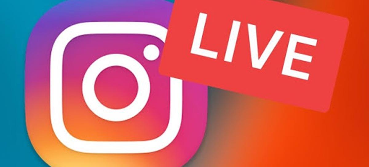 Lives no Instagram agora podem ser assistidas pelo computador