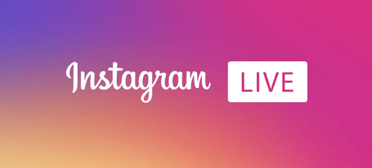 Instagram anuncia recurso que permite doações em lives
