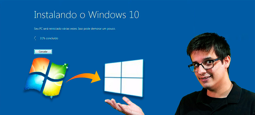 TUTORIAL: Veja como atualizar do Windows 7 para o Windows 10 gratuitamente!