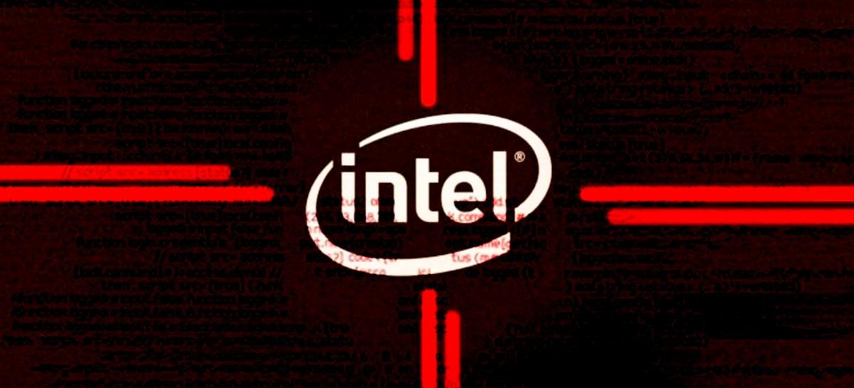 Intel sofre grande vazamento e 20GB de sua propriedade intelectual vão para a web