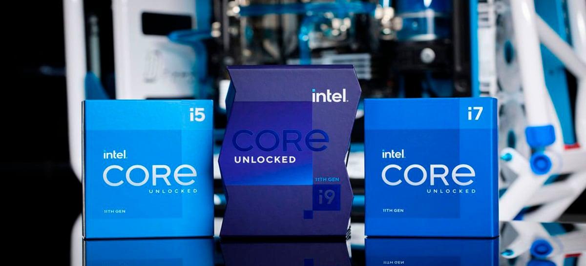 Intel lança processadores Core de 11ª geração Rocket Lake-S  - Veja testes!