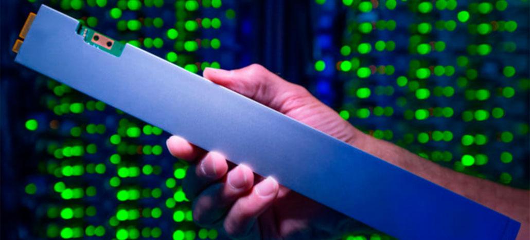 SSD em forma de régua Intel DC P4500 é o mais denso do mundo