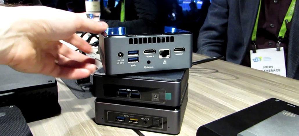 Novos PCs ultra compactos Intel NUC devem vir com CPUs Core i9
