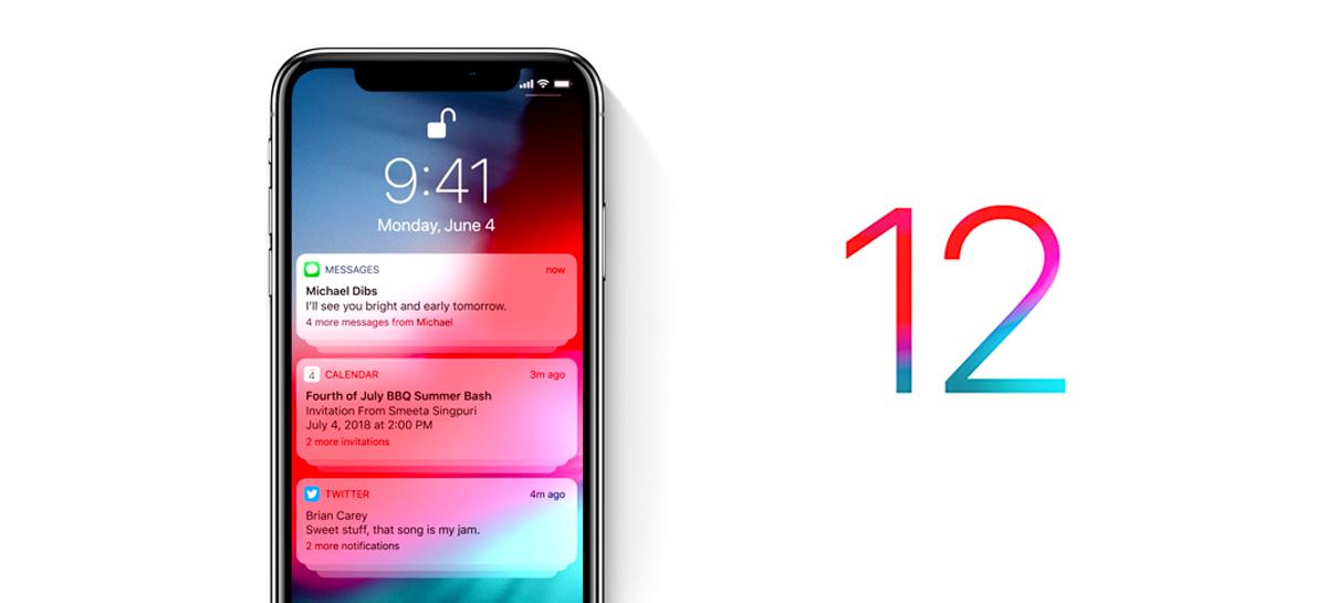 Apple disponibiliza o iOS 12.5 para modelos mais antigos do iPhone