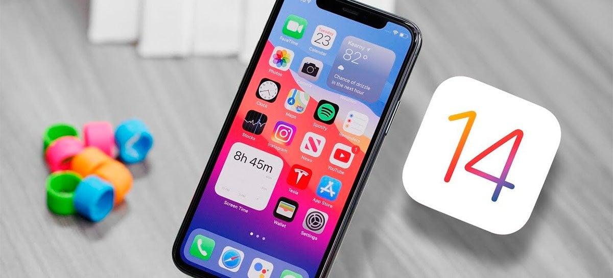 Adoção do iOS 14 pelos usuários é mais rápida que a do iOS 13